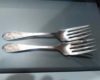 Williams silver plate Forks