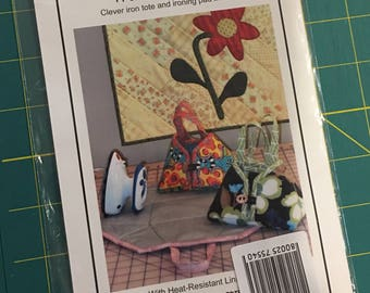 Travel Iron Tote PATTERN by Sister's Common Thread