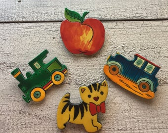 Vintage Whimsical Pins ... Free Shipping ... 10% Off Coupon SAVE10
