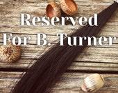 Reserved for B. Turner