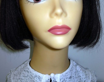 Peter Pan Collar/detachable/Neckware accessory/women/teens/girls/trendy/lace/white/Holidays