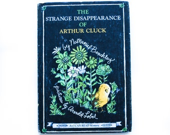 The Strange Disappearance of Arthur Cluck by Nathaniel Benchley, 1967, Children's Book, Children's Library, Vintage Children's Book