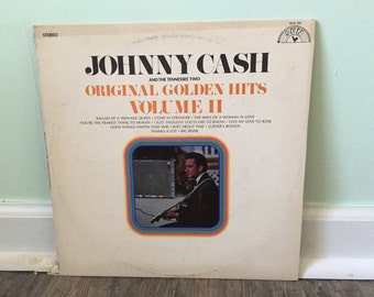 """Johnny Cash and the Tennessee Two """"Original Golden Hits Volume 2"""" vinyl record"""