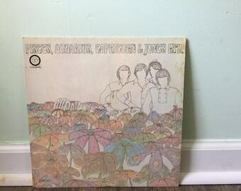 "The Monkees ""Pisces, Aquarius, Capricorn & Jones Ltd."" vinyl record"