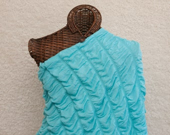 Nursing Scarf, Nursing Cover, Infinity Nursing Scarf, Blue, Nursing Apron, Scarves, Breast Feeding, Breast Feeding Cover, Baby Shower Gift