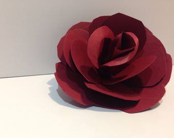 Stemless Paper Roses - Solids