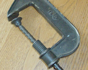 Vintage C-Clamp with Butterfly Handle