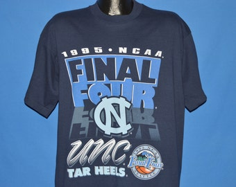 90s UNC Tarheels 1995 NCAA Final Four t-shirt Extra Large