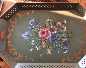 Large Tole Tray