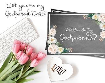 Be my godparents, you be my godparents, godparent card, asking godparents, card to godparents, will you be my god, my godparents, godparent