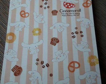 Kawaii cinnamoroll notepad