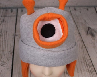 Adult Robot Fleece Hat
