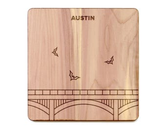 Austin Coaster - Congress Avenue Bridge