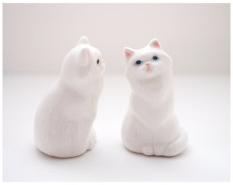 White Cat, Miniature Sculpture