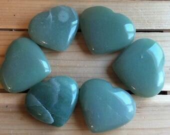 Green Aventurine Large Gemstone Heart, Spiritual Stone, Healing Stone, Healing Crystal, Chakra