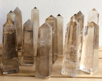 Smoky Quartz Crystal Tower,Crystal Tower, Healing Stone, Healing Crystal, Chakra Stone, Spiritual Stone, Reiki