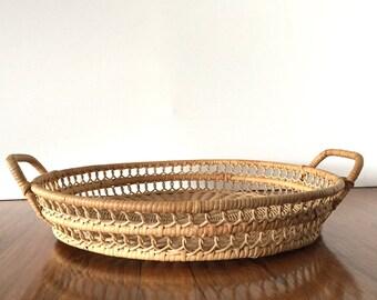 Boho Basket Tray