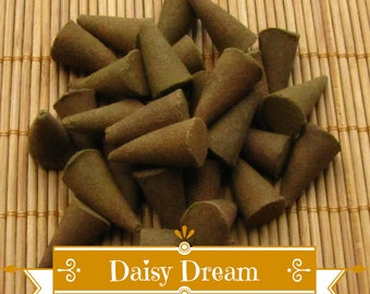 Daisy Dream Incense Cones - Hand Dipped Incense Cones