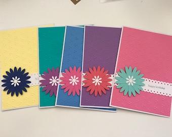 Set of 5 Handmade Cards