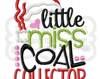 Little Miss Coal Collector