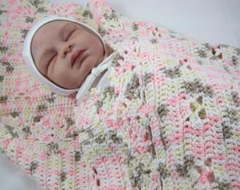 Crochet Baby Blanket, Baby Girl Cammo, Baby Boy Cammo, Baby Shower Gift, Baby Afghan, Baby Cammo Blanket