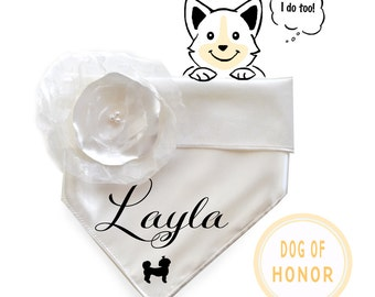 Personalized Special Occasion Dog Bandana