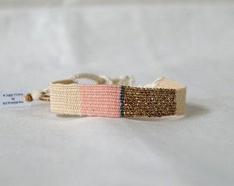 Handwoven Bracelets | Textile jewelry |  Boho chic style | Unique gifts | Unique woven accessories | Woven Boho Jewelry | Fiber Art Jewelry
