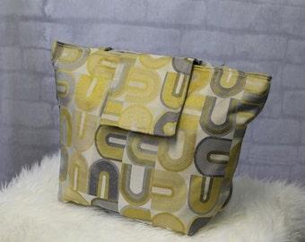 Ready to Ship - Large Shoulder Bag - Beach Bag - Diaper Bag - Nappy Bag - Weekend Bag - Teacher Bag - Carryon Bag - Washable Tote
