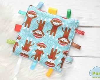 Taggie Sensory Security Blanket, Baby Comforter