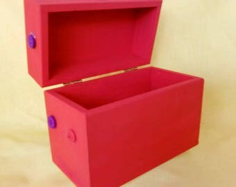 Decorative Recipe Box