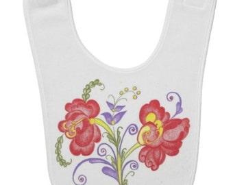 Custom Rosemal Baby Bib