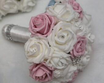 Artificial foam wedding flower package