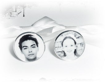 Cufflinks, personalised, photo