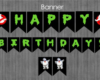 ON SALE!!  Ghostbuster Banner