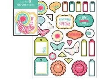 Studio G Die Cut Shapes - Butterflies and Tags