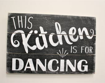 Distressed Wood Wall Decor this kitchen is seasoned with love pallet sign wood kitchen