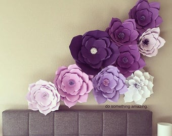 Paper Flowers (Set of 10)