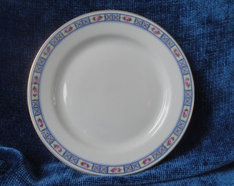4 Heinrich China Dessert or Bread and Butter Plates/HC28 Selb Bavaria Germany China Plates