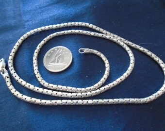 "Popcorn Chain 2.5mm & 6.4g Sterling Silver Necklace (20"")"