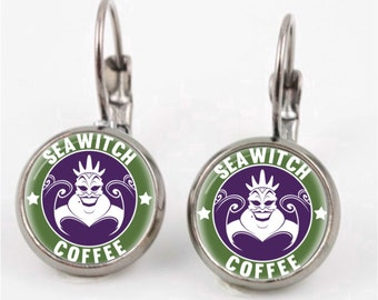 Ursula Starbucks Earrings or Ring