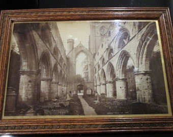 Dunkeld Cathedral Photograph in Frame