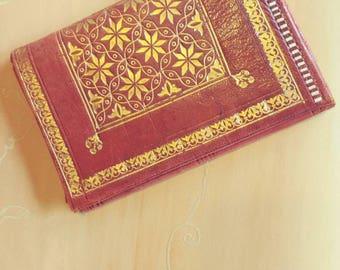 Vintage Hand Tooled Wallet