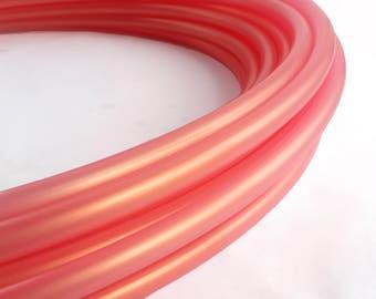 New! Color Shifting Papaya  Polypro 3/4  Hula Hoop// Customizable// Light Weight//Trick Hoop//Dance Hoop