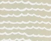 Waves in Sand Dollar - Kujira & Star by Rashida Coleman-Hale for Cotton + Steel
