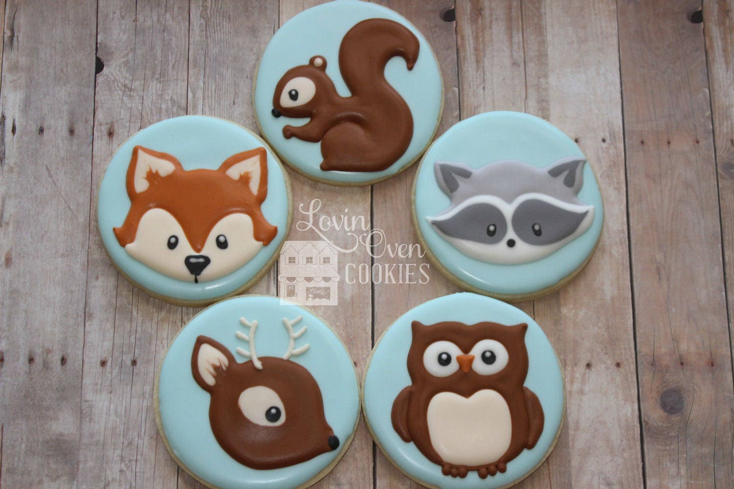 Owl Decorated Cookies Owl Sugar Cookies Etsy