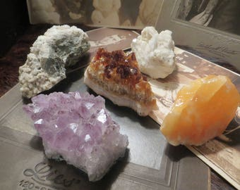 Instant crystal collection Set gems and minerals
