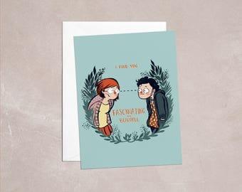 Fascinating And Beautiful - Greeting Card