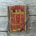 Vintage Banjara embroidered wedding dowry bag from india (H147)