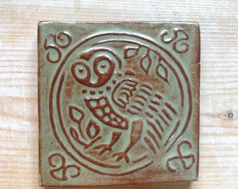 Owl Tile no.1 Oolong