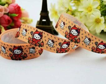 Hello Kitty, cat, comic, Jama Grosgrain ribbon